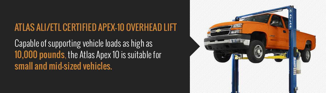 Best Rated 2-Post Car Lifts | North American Auto Equipment