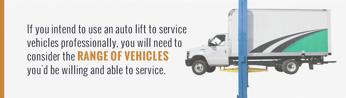 eee7c2c2813 If you purchase an auto lift for personal use — whether for car maintenance  and extra parking space — you will only need to concern yourself with the  height ...