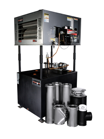 Mx 150 Waste Oil Heater By Lanair Value Package Quot D
