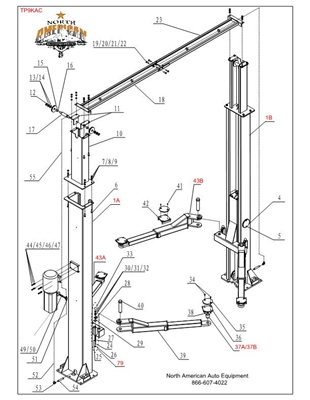 4 Post Car Lift on 2 post lift wiring diagrams